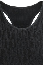 Seamless running vest - Black - Ladies | H&M CN 3